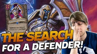 A Tirion Game! Searching for MY DEFENDER! | Hearthstone Battlegrounds | Savjz