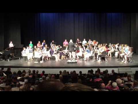 "Arab Junior High School Band - 2017 Spring Concert - 7th & 8th Grade - ""Zeal"""