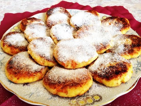 сырники в духовке пошаговый рецепт