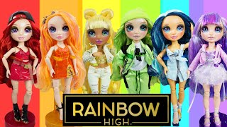 RAINBOW HIGH Dolls Series 1 VS OMG Dolls Can They Share Outfits? FULL UNBOXING