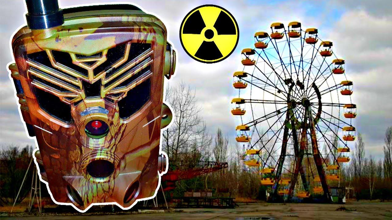 Поставил СКРЫТЫЕ КАМЕРЫ в Припяти ☢ Засветили герб и ловим вандалов в Чернобыльской Зоне Отчуждения