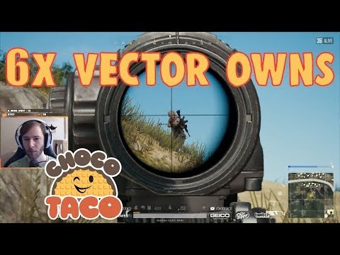 chocoTaco Owns with 6x Vector - PUBG Game Recap