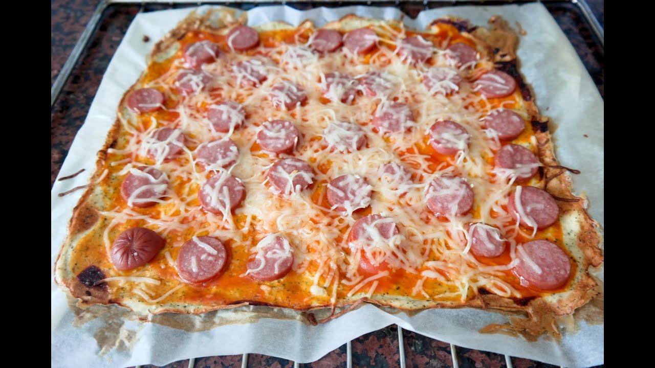 Como hacer una pizza de dieta