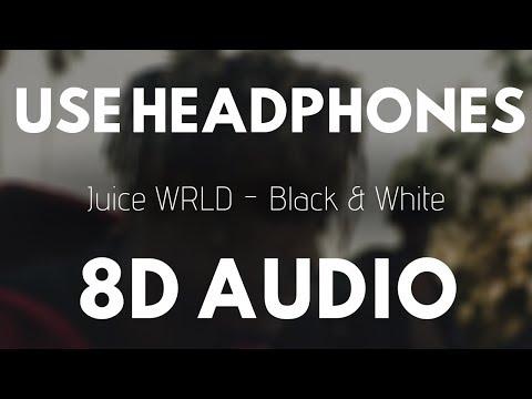 Juice WRLD - Black & White (8D AUDIO) | 8D UNITY