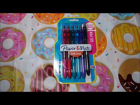 Paper Mate Inkjoy Quick Drying Gel Pens Review