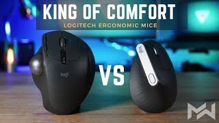 BEST Ergonomic Mouse of 2019 -  Logitech MX Ergo vs MX Vertical - Comparison Review