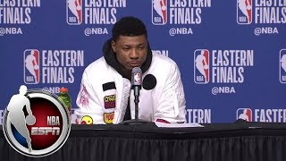 [FULL] Marcus Smart on scuffle with JR Smith: It's like standing up to a bully | NBA on ESPN