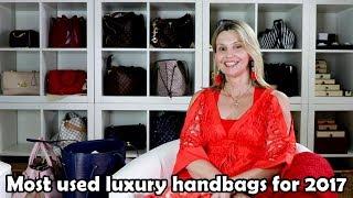 My most used Designer Handbags for 2017