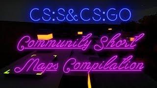 CS:S&CS:GO BHOP - Community short maps compilation #1.