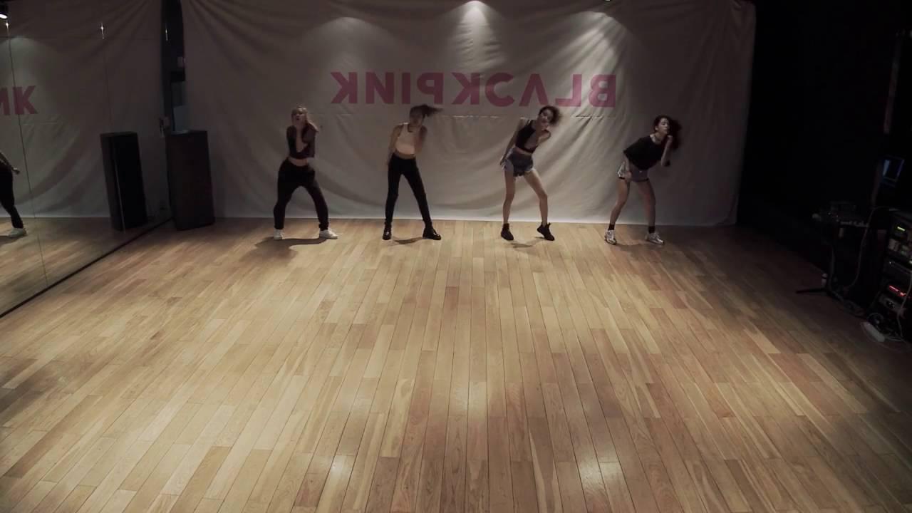 Blackpink 'Whistle' Mirrored Dance Practice, 블랙핑크 '휘파람' 안무 거울모드