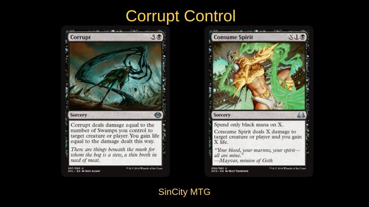 Corrupt Control SinCity MTG