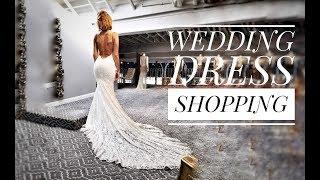 VLOG : ищу свадебное платье | примерка