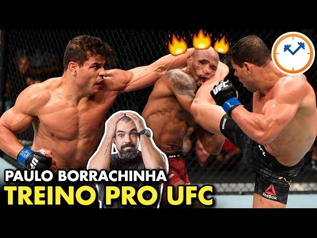 TREINO e DIETA do BORRACHINHA pro UFC | Saúde na Rotina