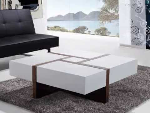 Modern contemporary coffee table design ideas - YouTube