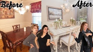 Dining Room Decorating Ideas *Budget- Friendly Makeover* | Interior Design | Season 1, Episode 1