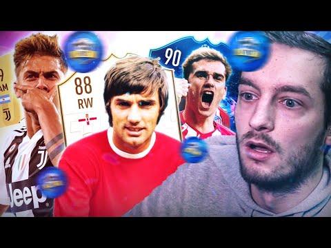GEORGE BEST ICON & GRIEZMANN UCL SONO MOSTRUOSI! [FIFA 19 Draft]