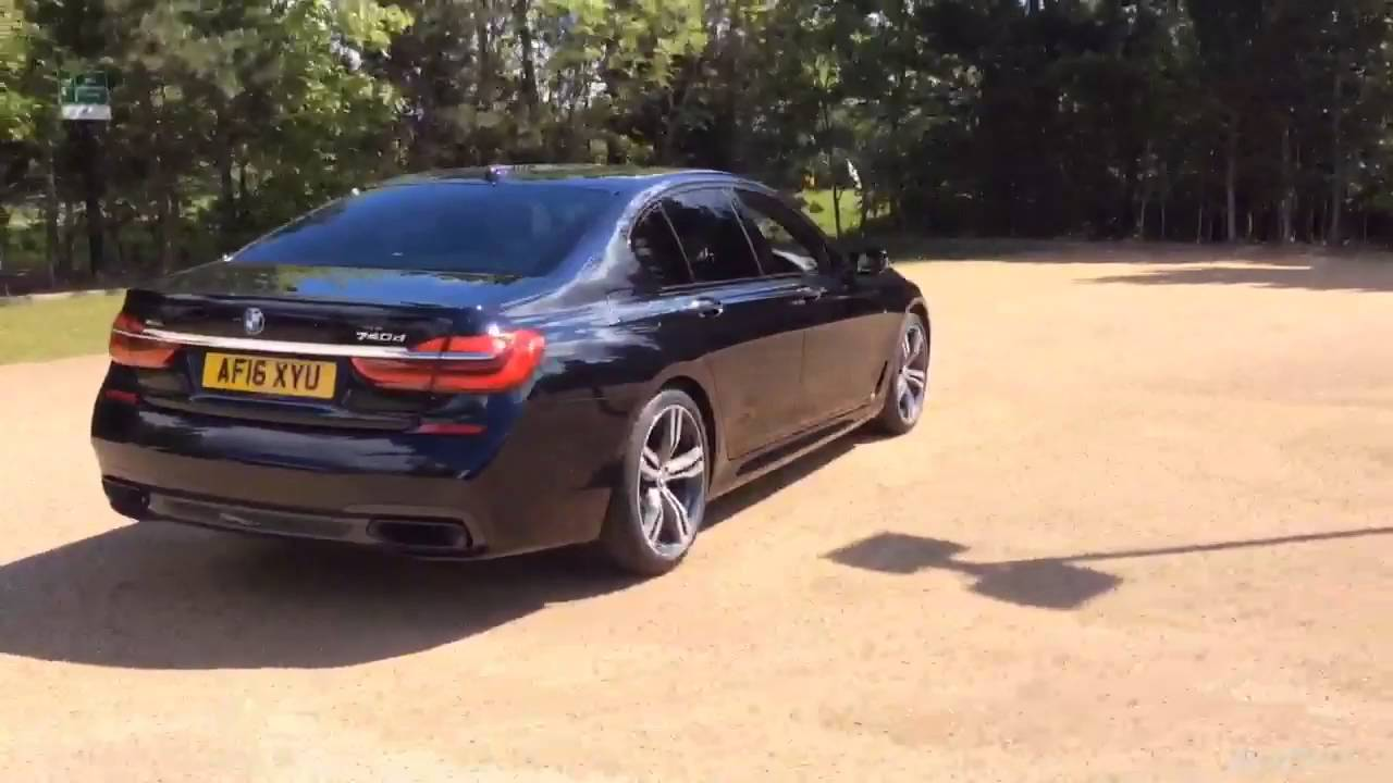 BMW 7 SERIES 740LD XDRIVE BLACK 2016