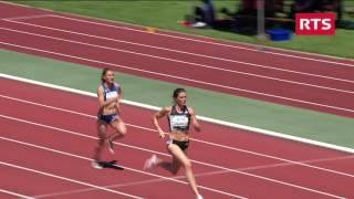 Schweizer Meisterschaften 2016, 200m Frauen Vorlauf Lea Sprunger