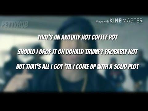 Eminem Trump Freestyle (Lyrics)