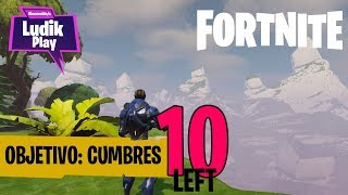 WALK TO CUMBRES! THERE's 10 LEFT FORTNITE SAVE THE WORLD ENGLISH GAMEPLAY