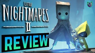 Little Nightmares 2 Switch Review- A Paper Bag & Yellow Coat NIGHTMARE! (Video Game Video Review)