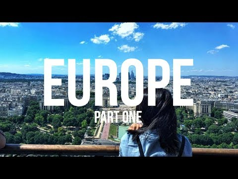 Europe Travel Diary 01 | Germany, Netherlands, Belgium, Luxembourg & France