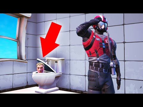 NO ONE Will Find Me In This BATHROOM! (Fortnite Hide And Seek)