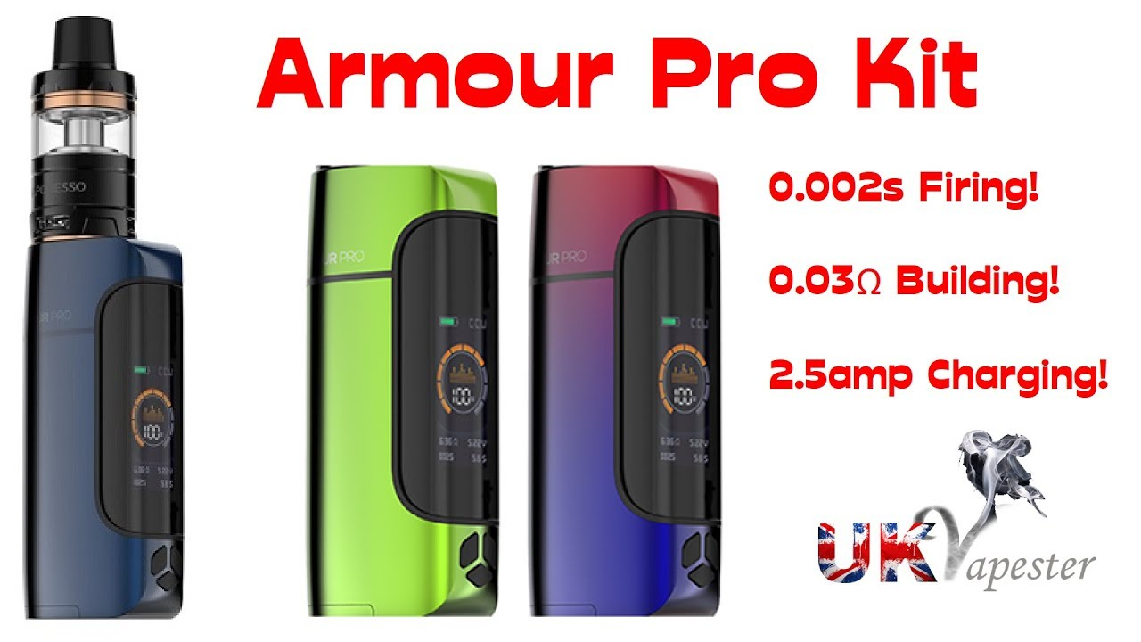 Vaporesso ARMOUR PRO Kit | Fastest Charging & Firing Mod!