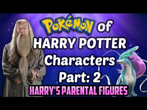 HARRY POTTER characters matched with their POKEMON PART 2