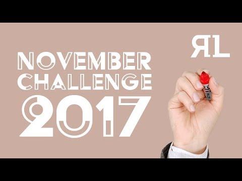 November 2017 Challenge for Nom De Plume Month