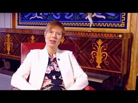 Eesti president Kersti Kaljulaid tervitab välismaal elavaid eestlasi