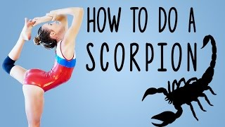 Get Your Scorpion!! Gymnastics Flexibility Stretch Tutorial, Follow Along Workout Routine at Home