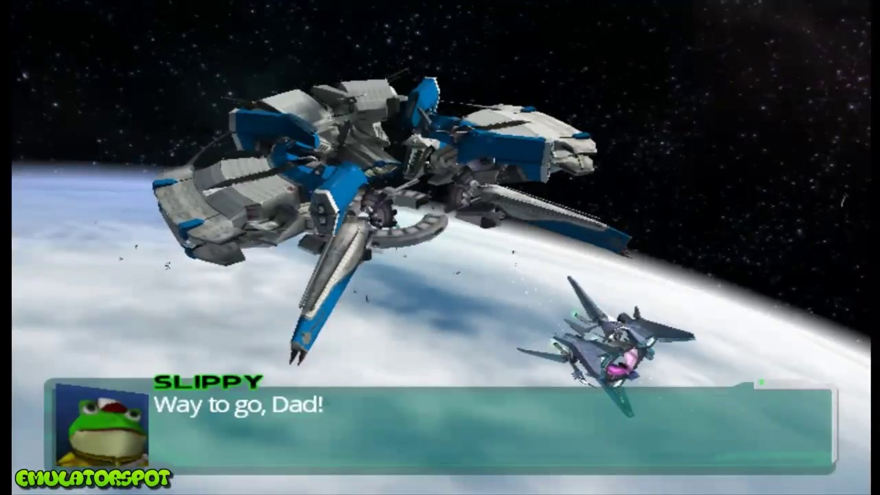 Star Fox Assault - Mission 8: Orbital Gate - Incoming (Dolphin Emulator)