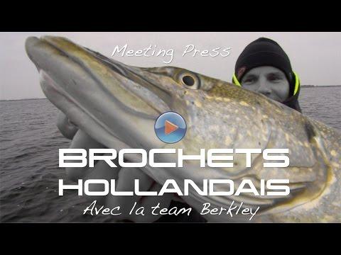 Pêche des carnassiers en Hollande Part1