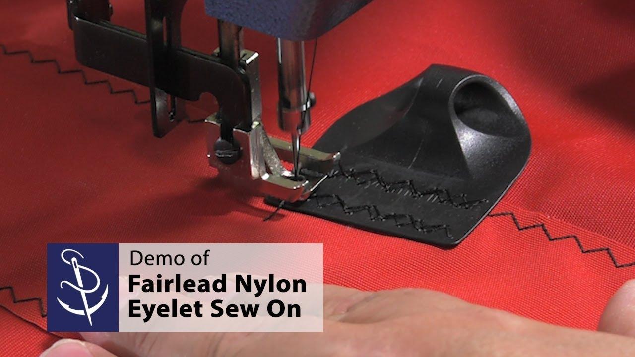 Fairlead Nylon Eyelet Sew On Demo