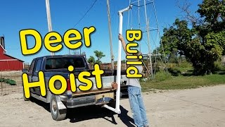Deer Hoist Build