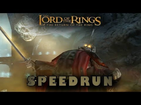 Lotr: The Return of the King Speedrun WR (1:28:57)(1P Easy any%) PC