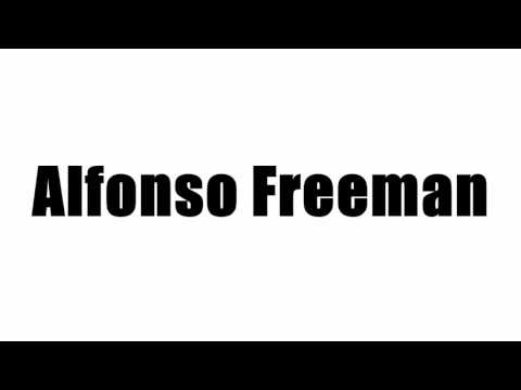 Alfonso Freeman