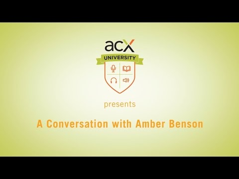 ACX University Presents: Performance Q&A with Amber Benson