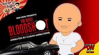 Vin Diesel Bloodshot Interview - Karan With Koffee Ep 1 | Desinerd