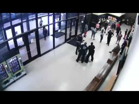 Dallas Police Murder Man in Jail Lobby!!