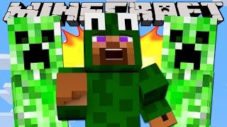 Minecraft - CREEPER CHASE CHALLENGE