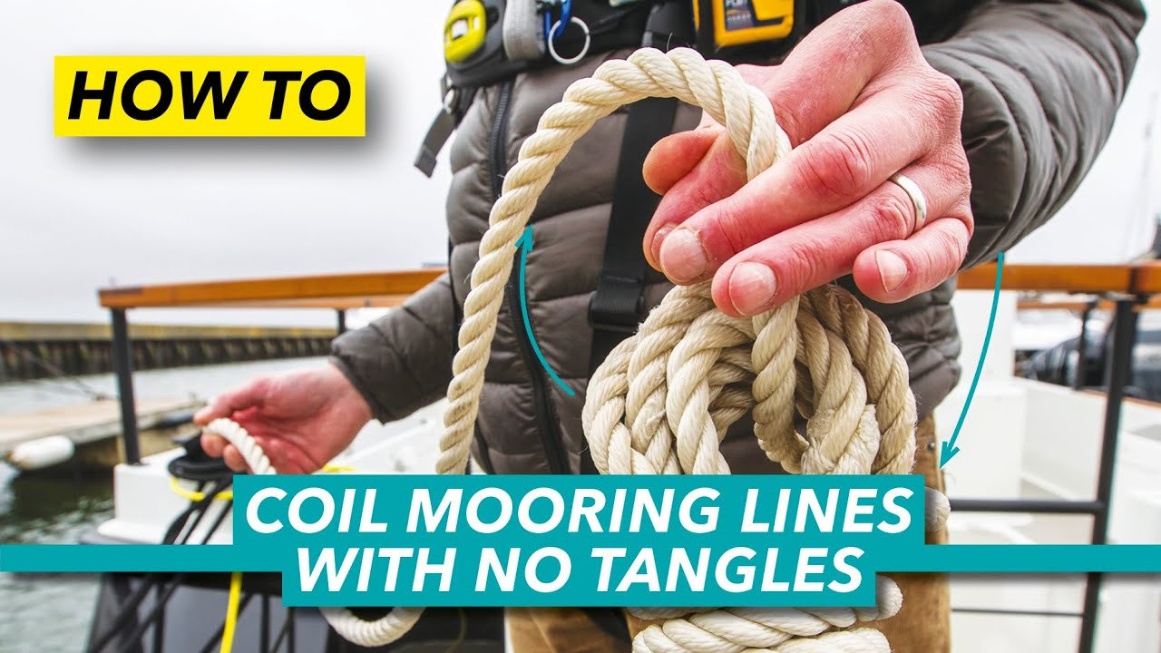 How to coil mooring lines | This simple method ends tangled rope frustration | Motor Boat & Yachting