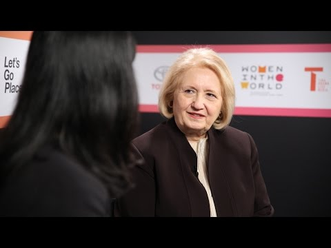 "Melanne Verveer: ""Violence against women is on the uptick ..."