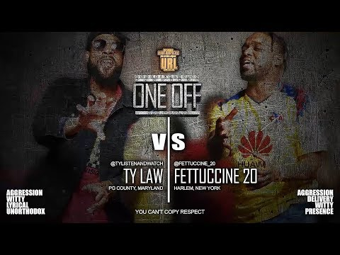 TY LAW VS FETTUCCINE 20 SMACK/ URL RAP BATTLE | URLTV