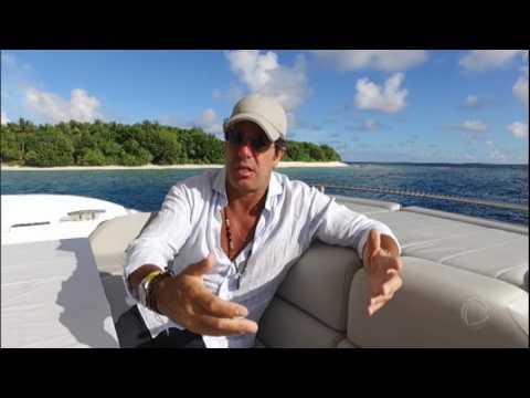 50 Por 1: Álvaro Garnero Visita A República Maldivas, Paraíso Em Vários Tons De Azul