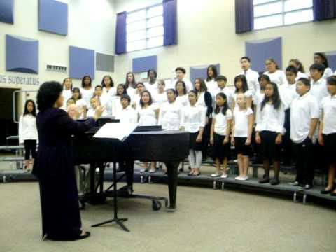 Eden gardens Eletary choir #1 - YouTube