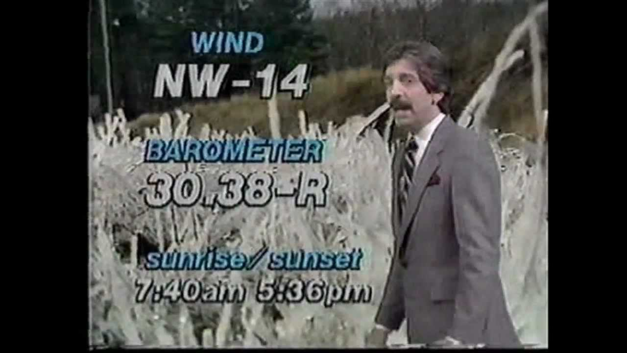 waga-tv channel 5 atlanta  ga weather 1983