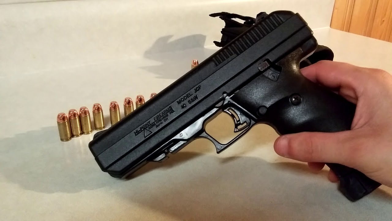 Hi Point JCP  40 s&w overview