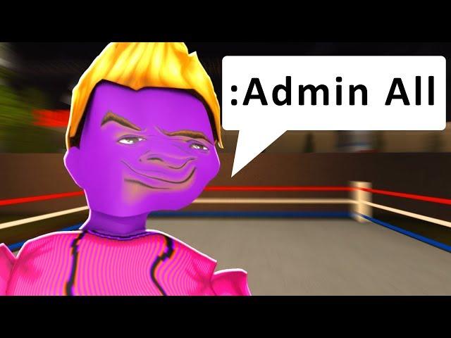 He Scammed Me This Is How I Got Revenge Custom Admin - custom admin commands roblox download